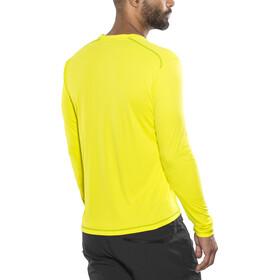 Kaikkialla Toni - Camiseta de manga larga Hombre - amarillo